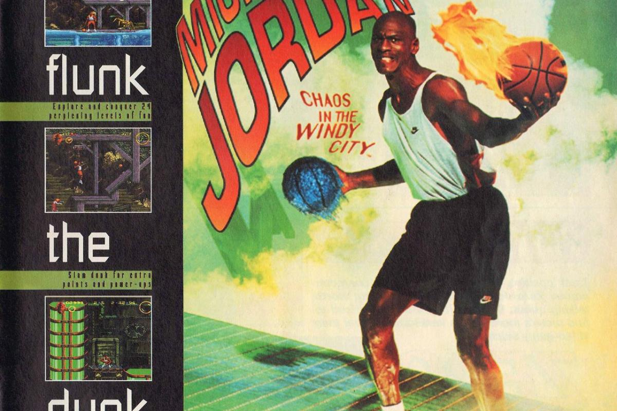 0e906f4b57d Chicago Moments in Gaming History – Michael Jordan  Chaos in the Windy City