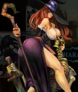 The Sorcerer from Dragon's Crown