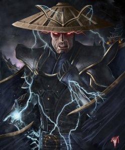 The fury of Dark Raiden