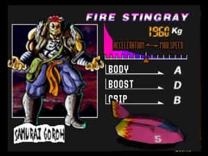 Fire Stingray