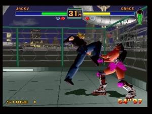 Fighters Megamix Screen 2