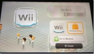 Wii on Wii U