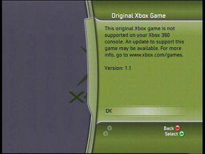 Xbox 360 error