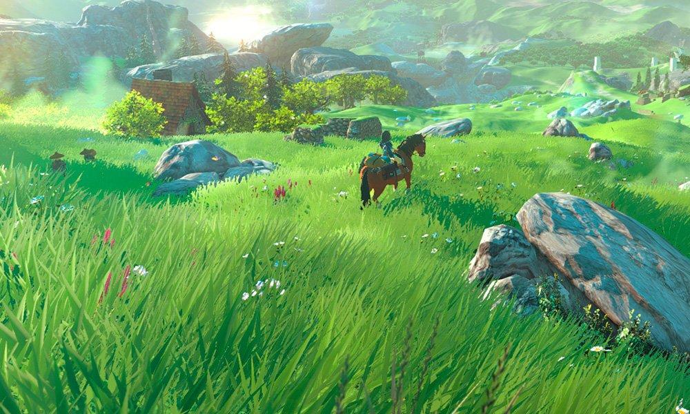 Zelda Wii U cover