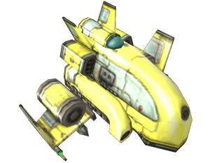 Colony Wars ship