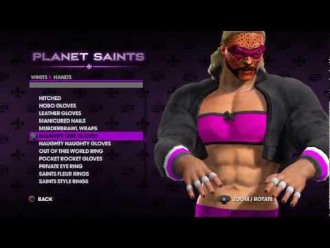 Saints Row custom character