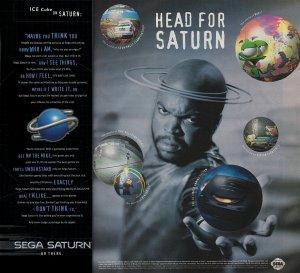 Saturn Ice Cube
