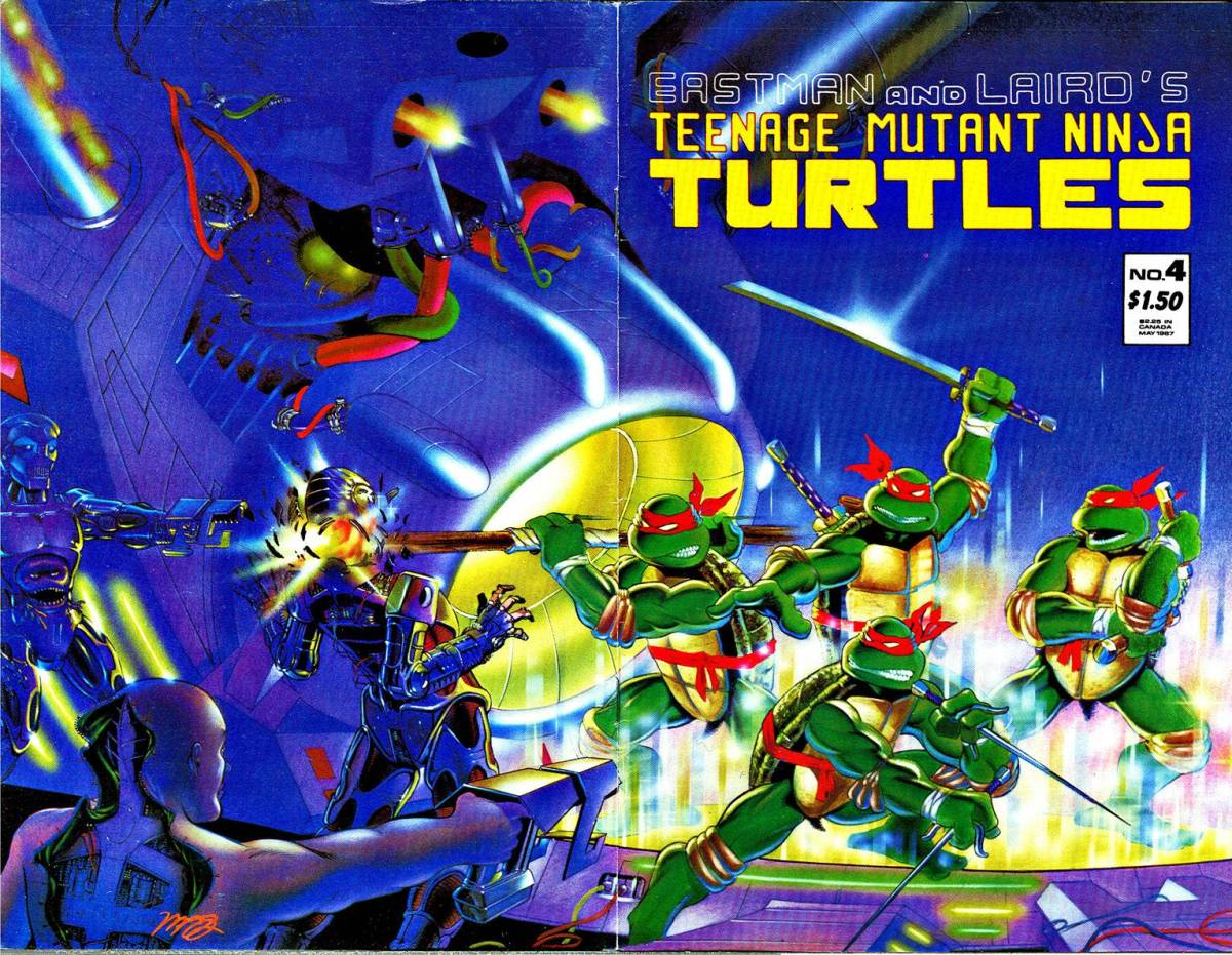 TMNT Issue 4