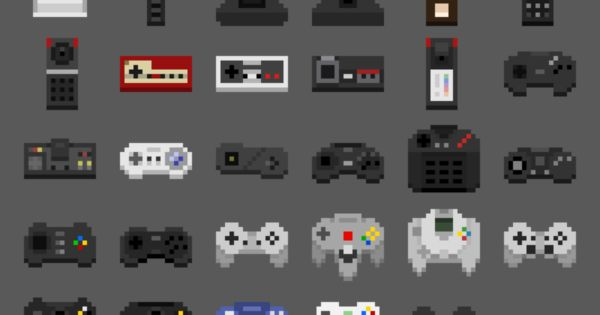 controllers-pixel
