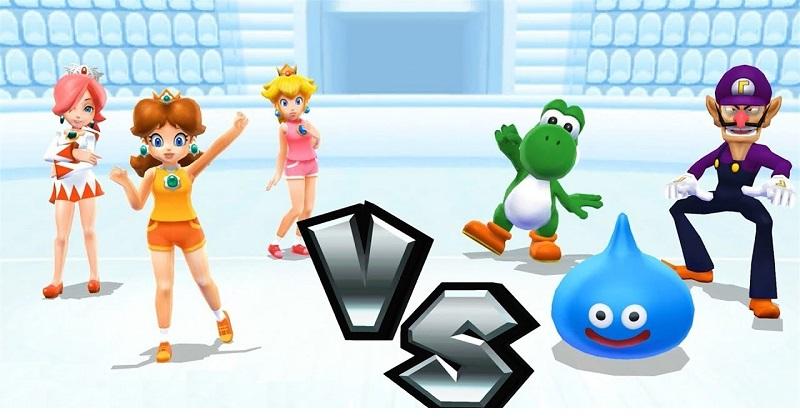 Mario Sports Mix Vs screen